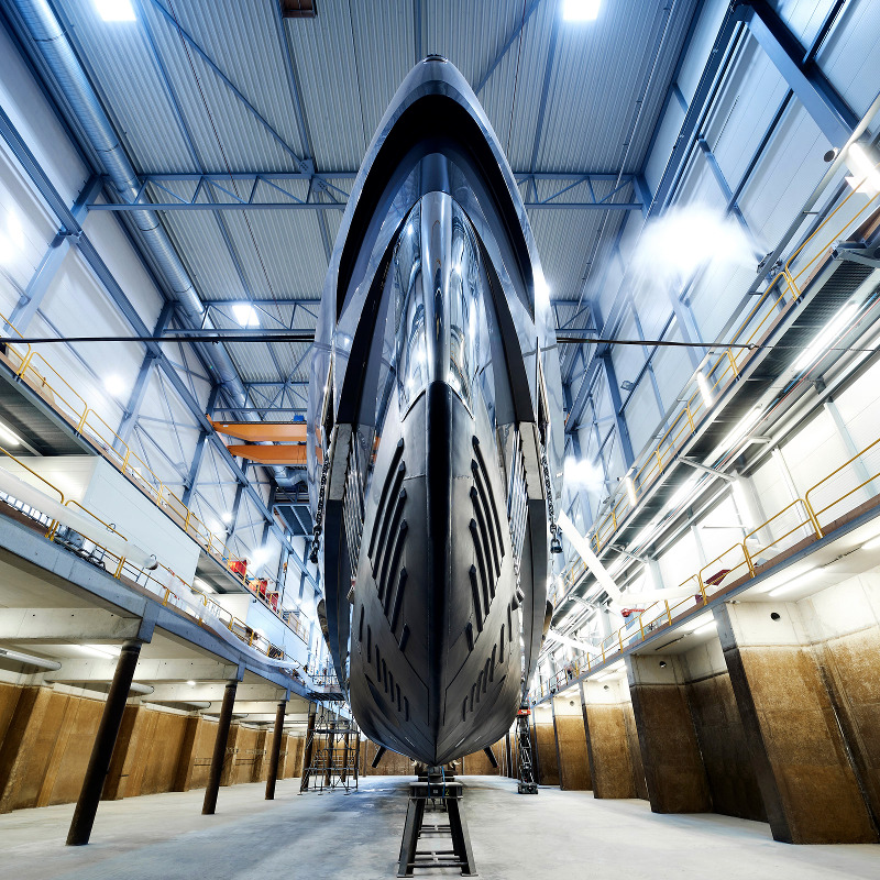 Image for article Heesen launches new 50m superyacht