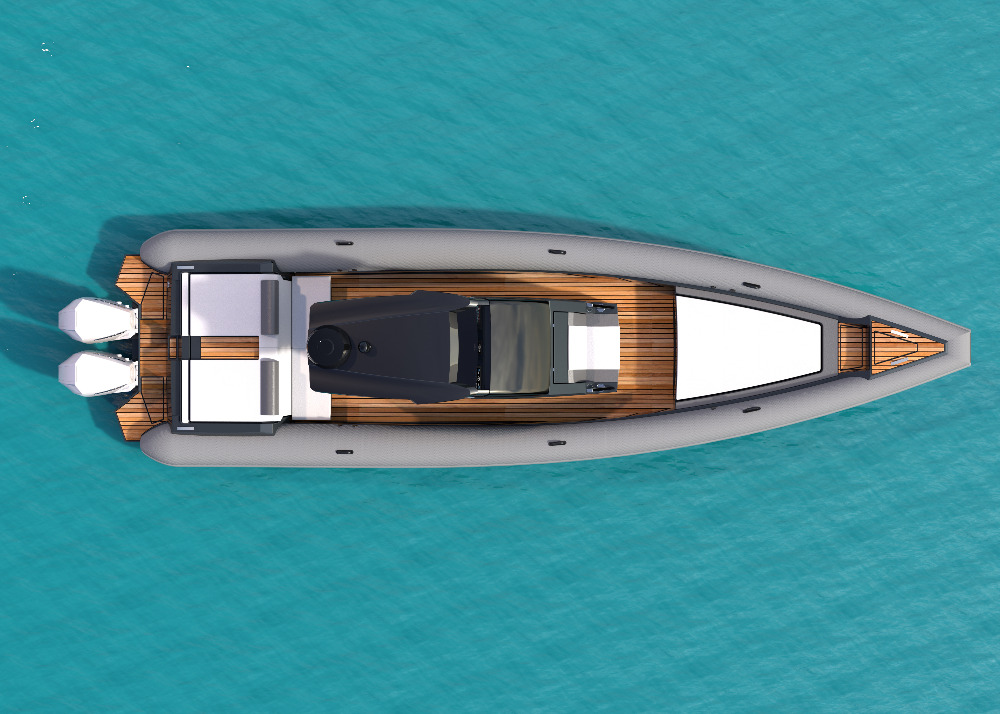 Image for article TECHNOHULL launches their fastest ever boat, the 38 Grand Sport