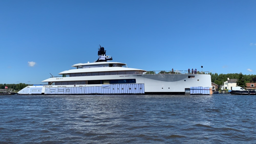Image for article Feadship announces name of its latest 77.25m project
