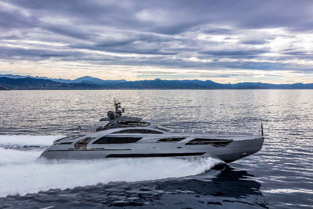 Image for article Pershing unveils new 43.3m flagship