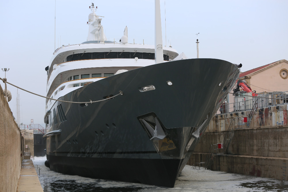 Image for article 20-year survey of M/Y 'Boadicea' complete