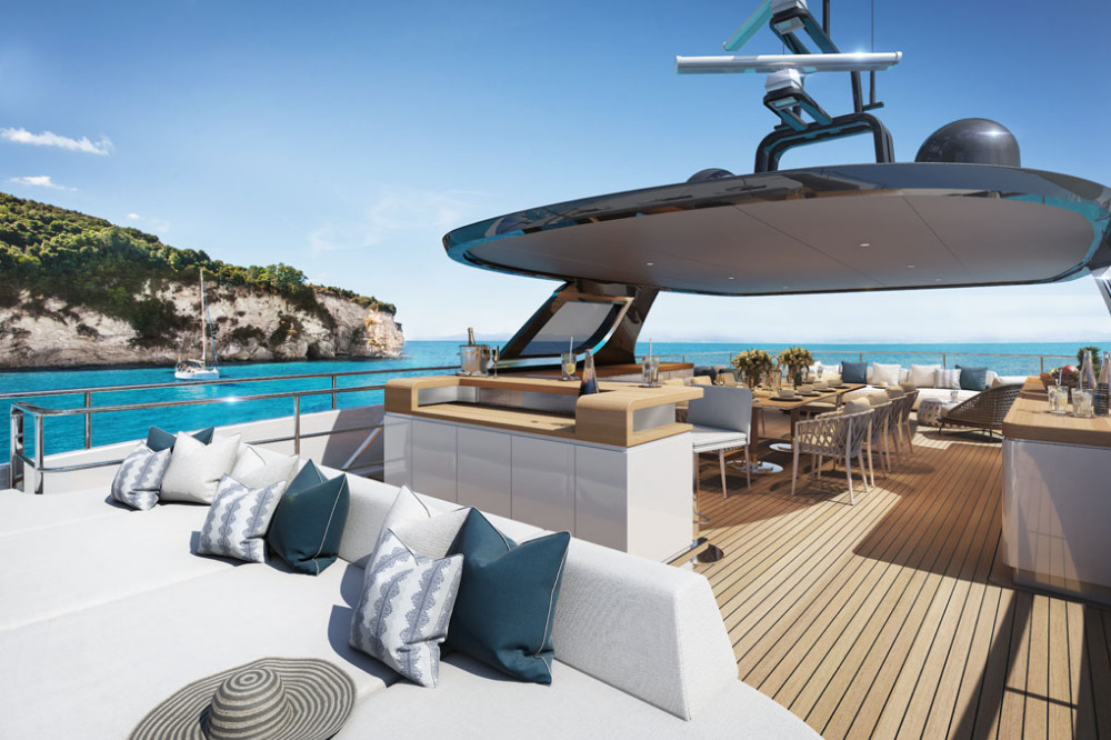 Image for article Benetti sells first 40m Oasis superyacht