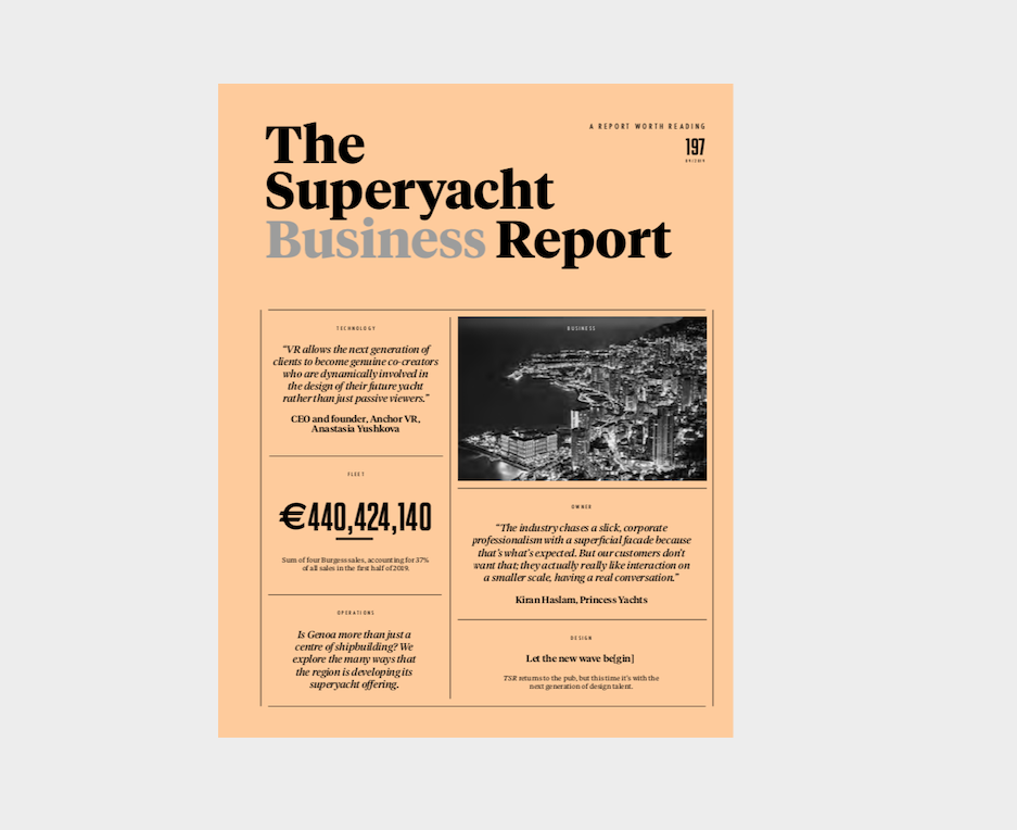 Image for article The Superyacht Business Report out now