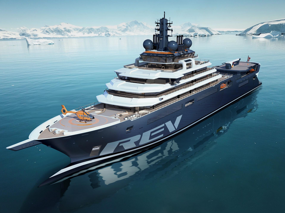 Image for article REV Ocean vessel launch