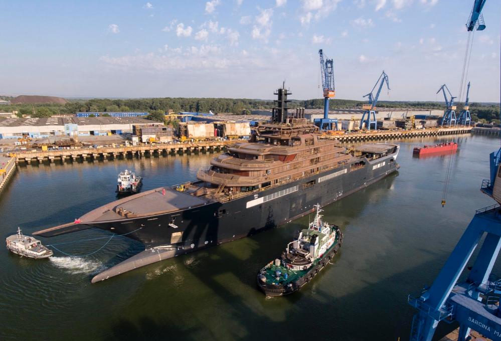 Image for article REV Ocean vessel launch