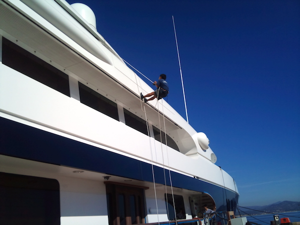 Image for article Working aloft: unsafe practices on superyachts