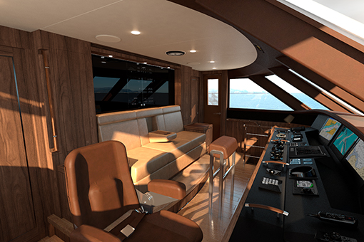 Image for article CCN to launch first certified 'Hybrid Power' motoryacht