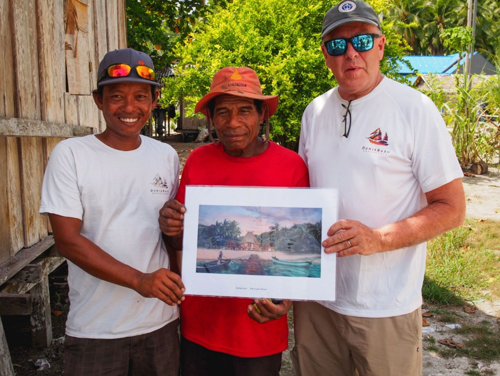 Image for article Owner of S/Y 'Dunia Baru' gives back to Indonesia