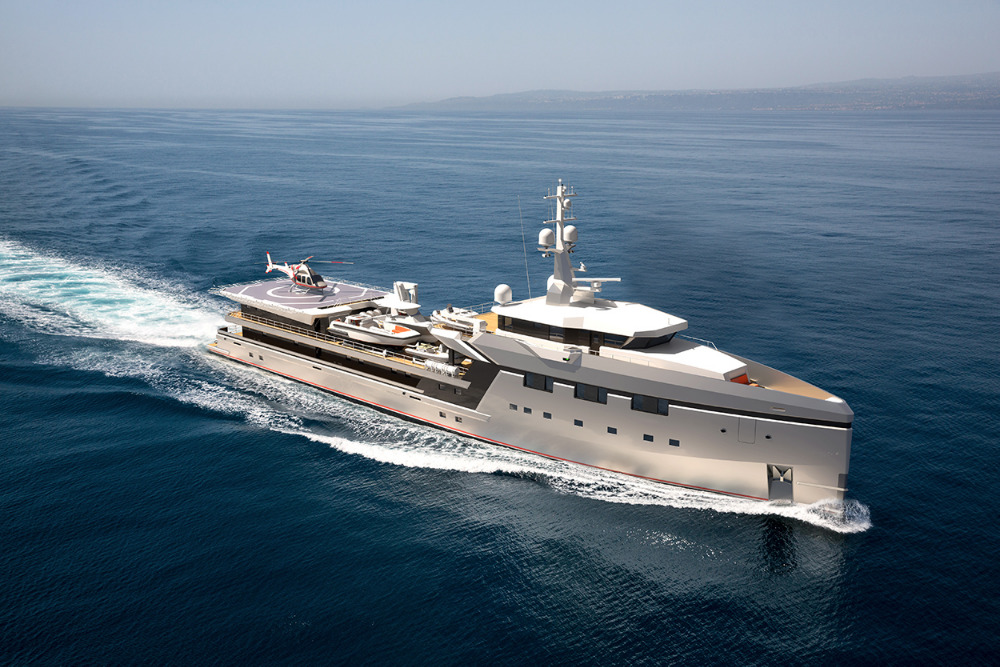 Image for article DAMEN signs largest Yacht Support to date