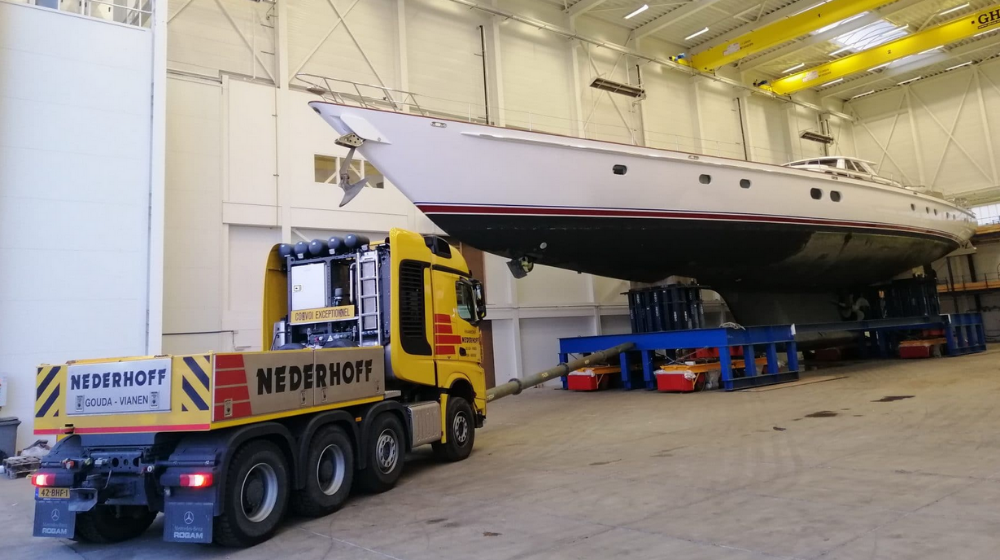 Image for article Royal Huisman welcomes repeat client for fourth refit