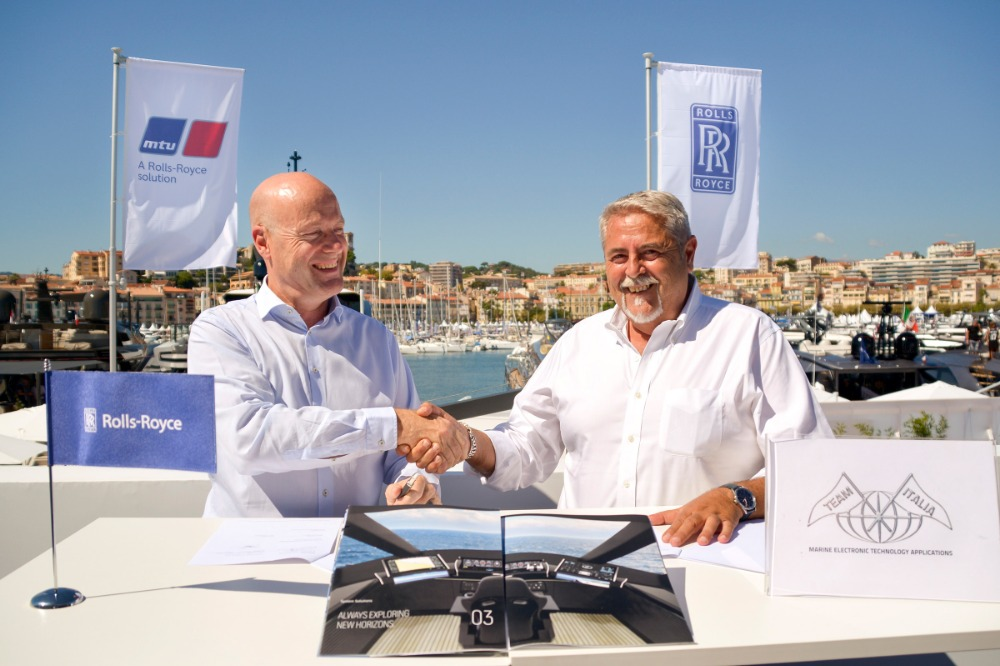 Image for article Rolls-Royce and Team Italia join forces to develop integrated bridge solution