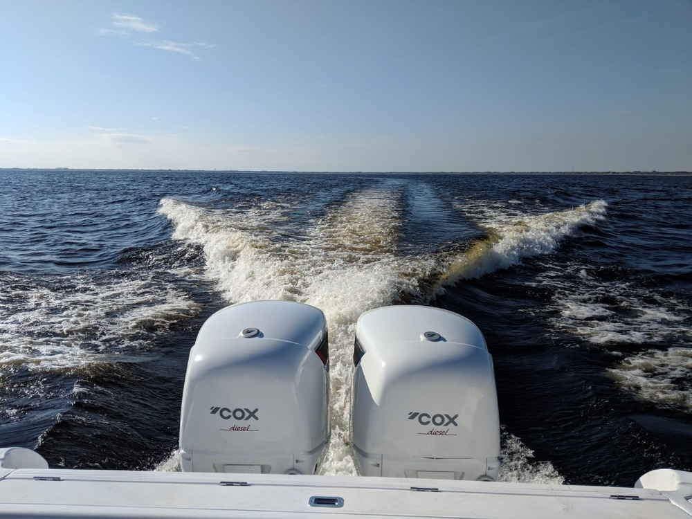 Image for article Cox Powertrain presents diesel outboard to superyacht market at MYS