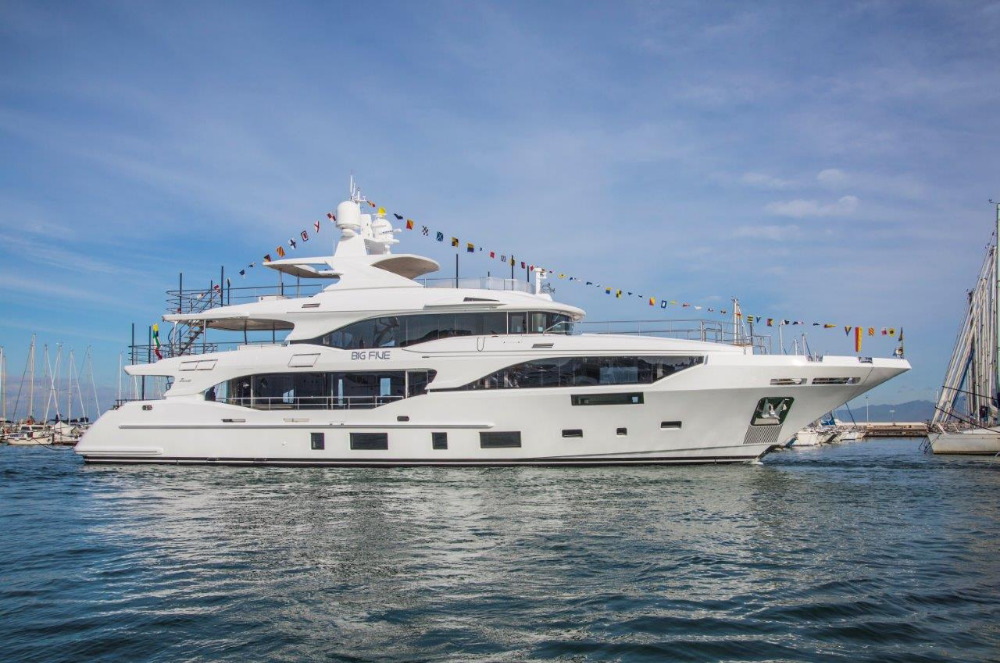 Image for article Benetti to showcase three vessels at Monaco Yacht Show