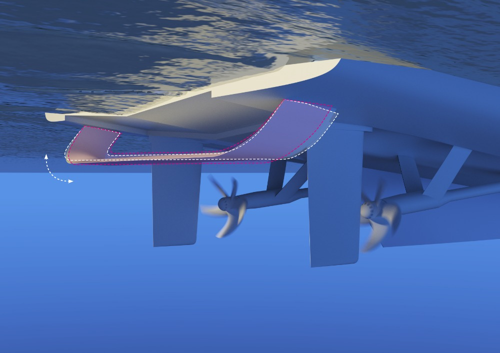 Image for article Hull Vane presents active pitch stabilisation at MYS