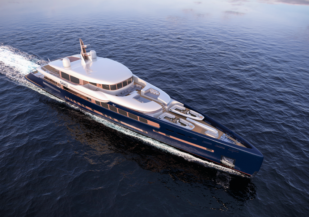Image for article Royal Huisman chooses MYS for the global debut of M/Y 'Sangi'