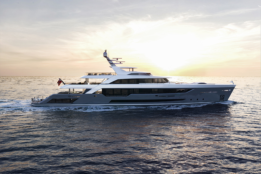 Image for article Alia Yachts a hive of activity