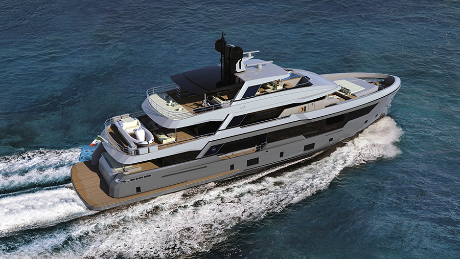 Image for article Rosetti Superyachts unveils details of new 38m explorer