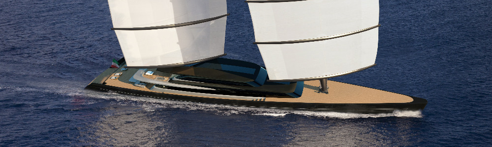 Image for article Perini Navi presents new Falcon Rig Gallery at the Monaco Yacht Show