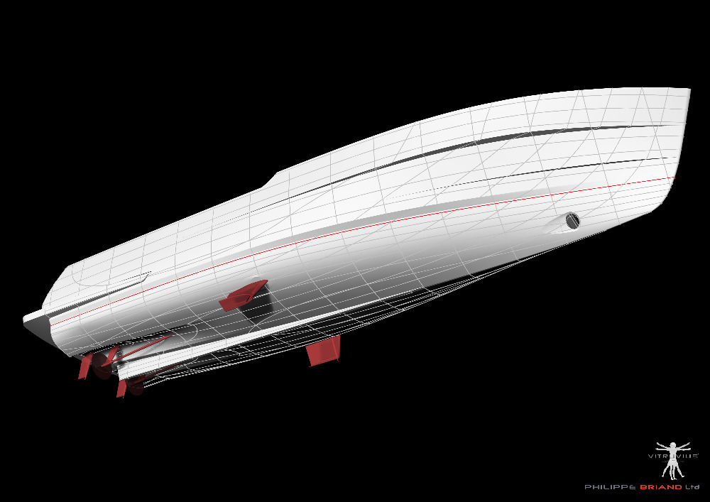 Image for article Philippe Briand's new self-sufficient 60m concept unveiled: Perfect 60