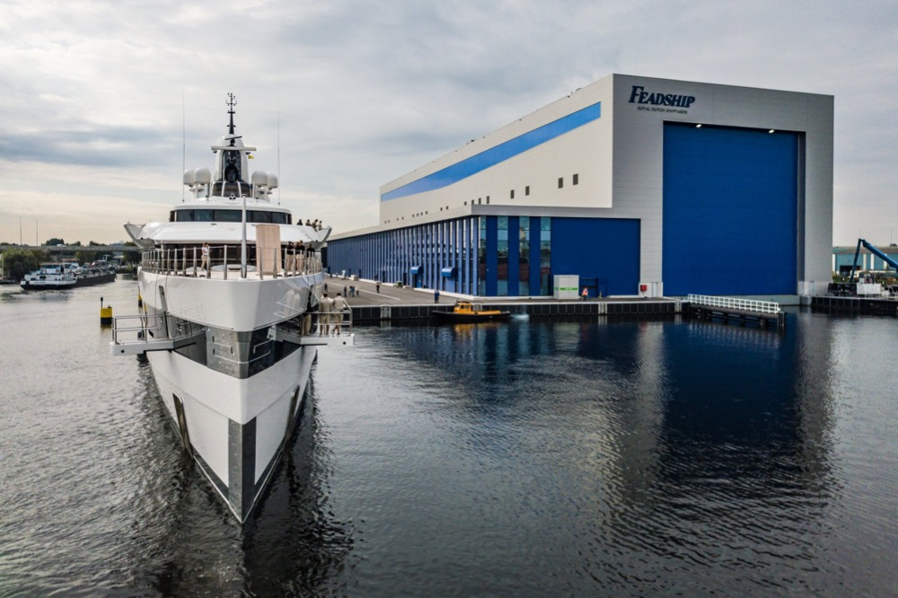 Image for article Feadship's refit future
