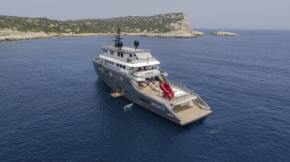 Image for article First explorer yacht from the K-Series by Floating Life on display at MYS
