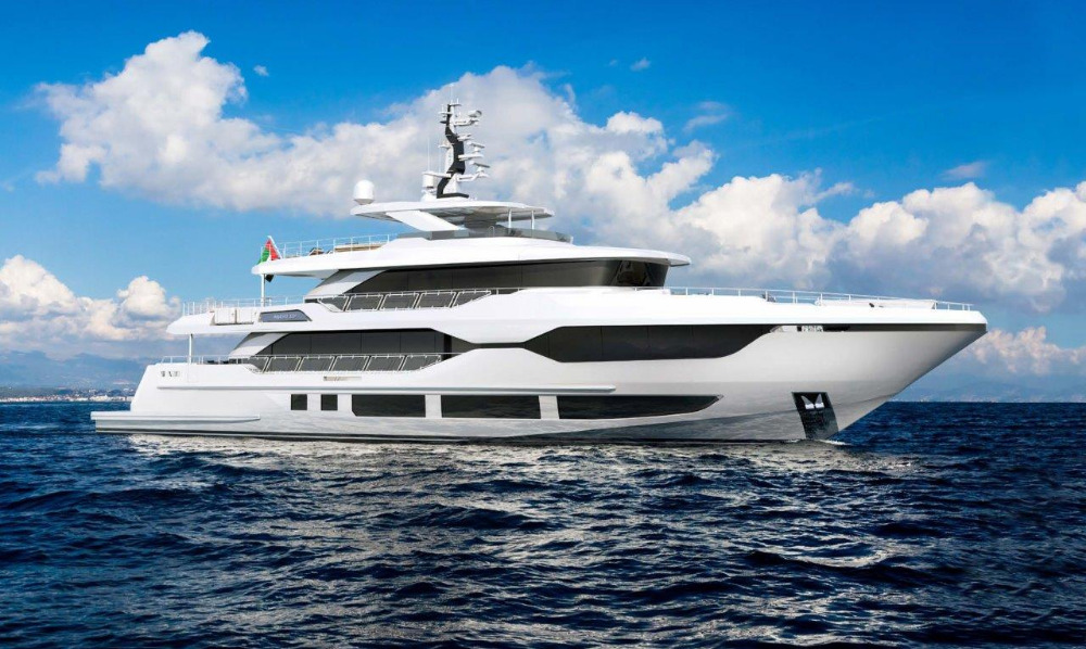 Image for article Gulf Craft reveals new 37m Majesty Yachts model