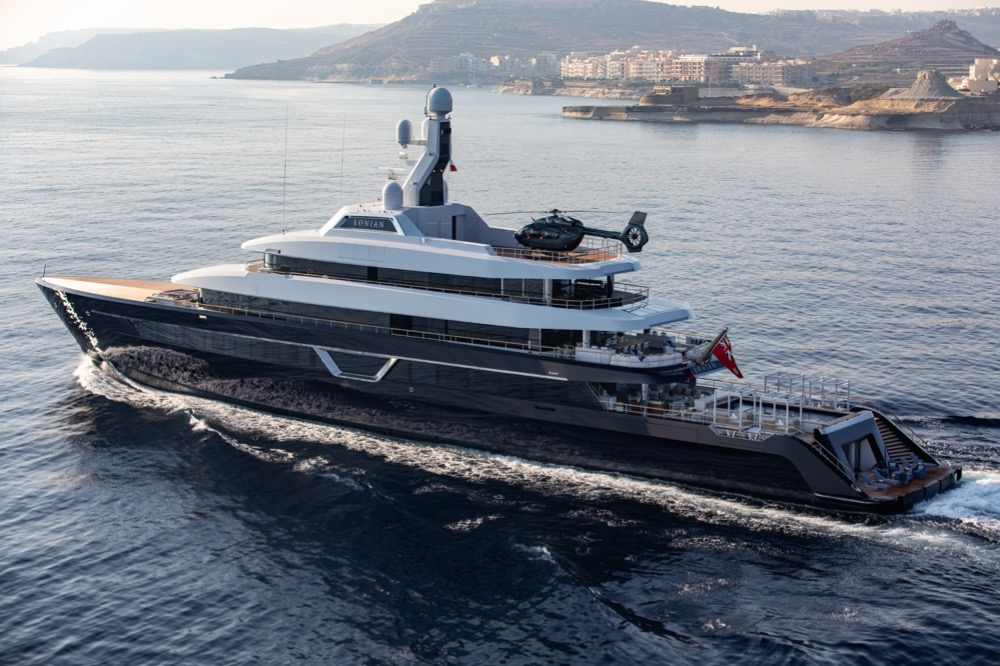 Image for article First images of Feadship's 87m M/Y 'Lonian' released