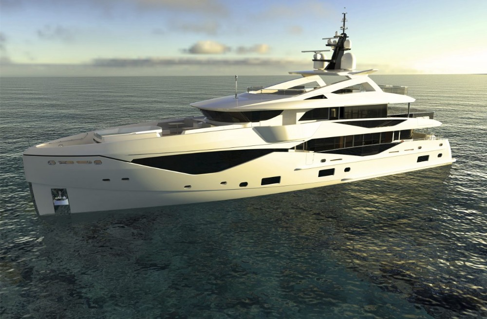 Image for article Sunseeker to build in aluminium and steel at Pendennis