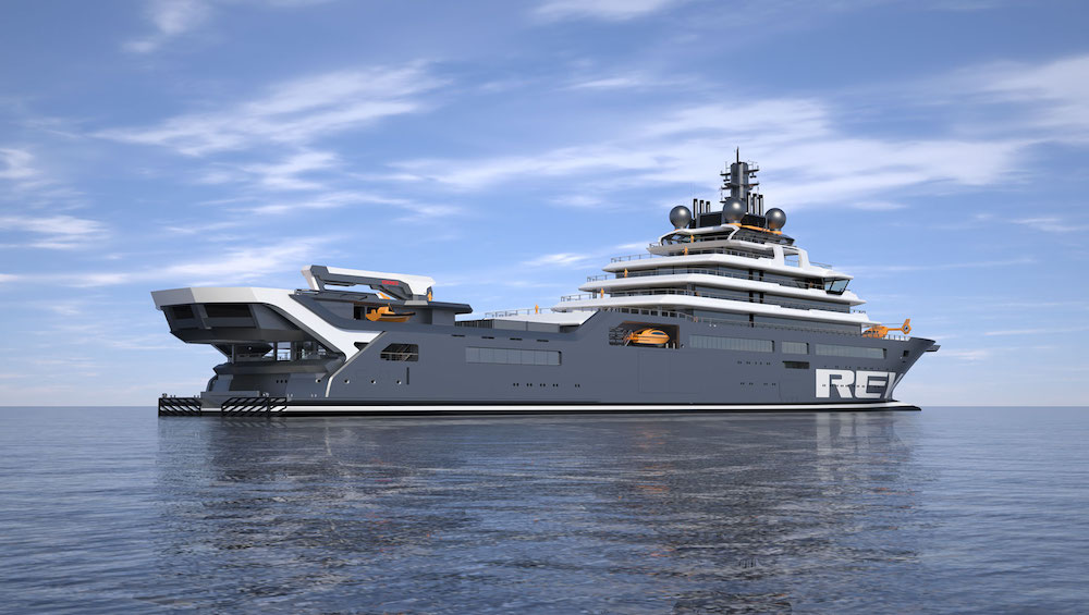 Image for article REV Ocean to be completed at Lloyd Werft
