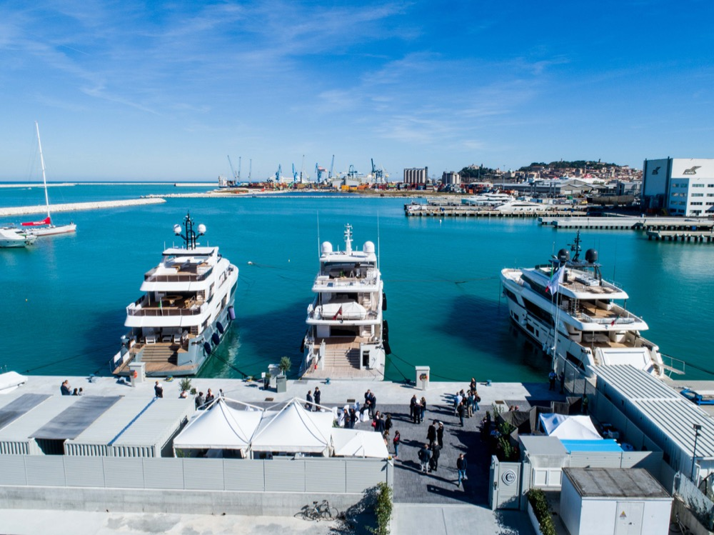 Image for article Cantiere delle Marche opens new dock in Ancona