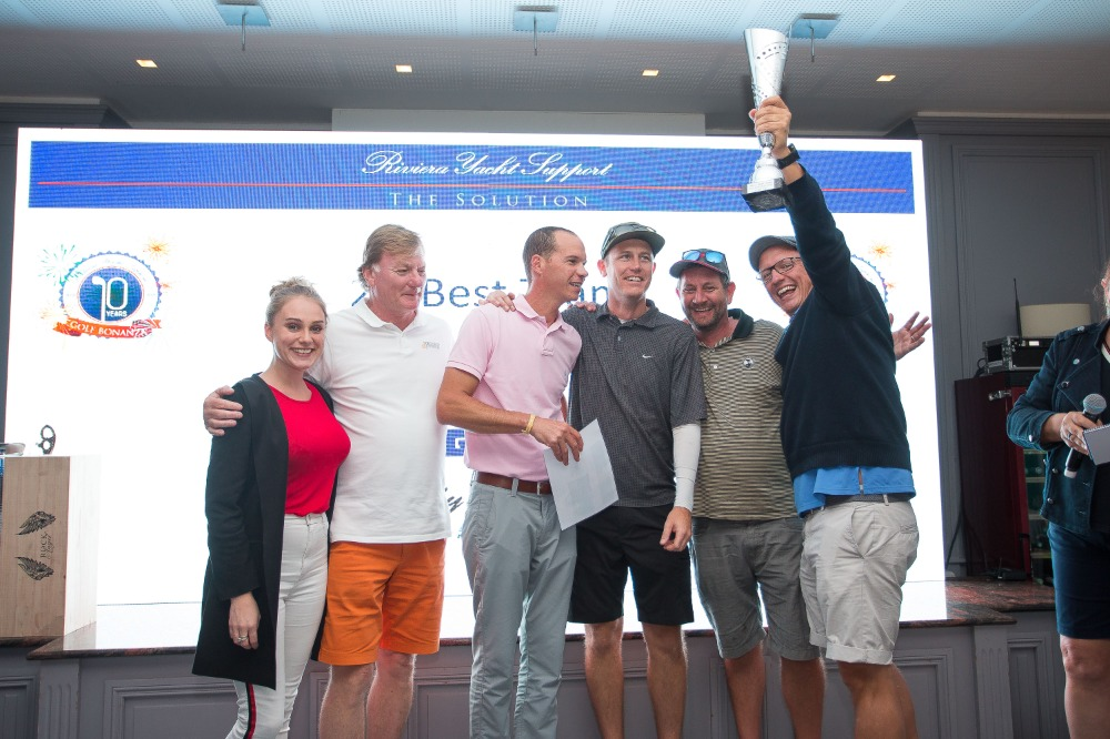 Image for article The Riviera Yacht Support Golf Bonanza 2019