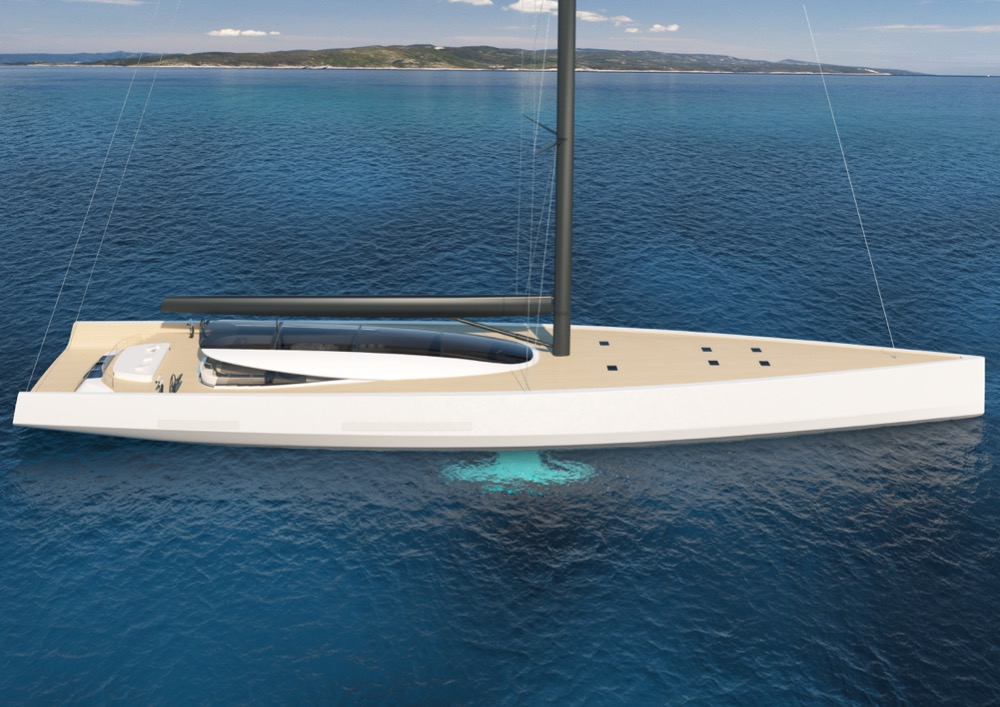 Image for article Philippe Briand expounds sailing as the greenest path