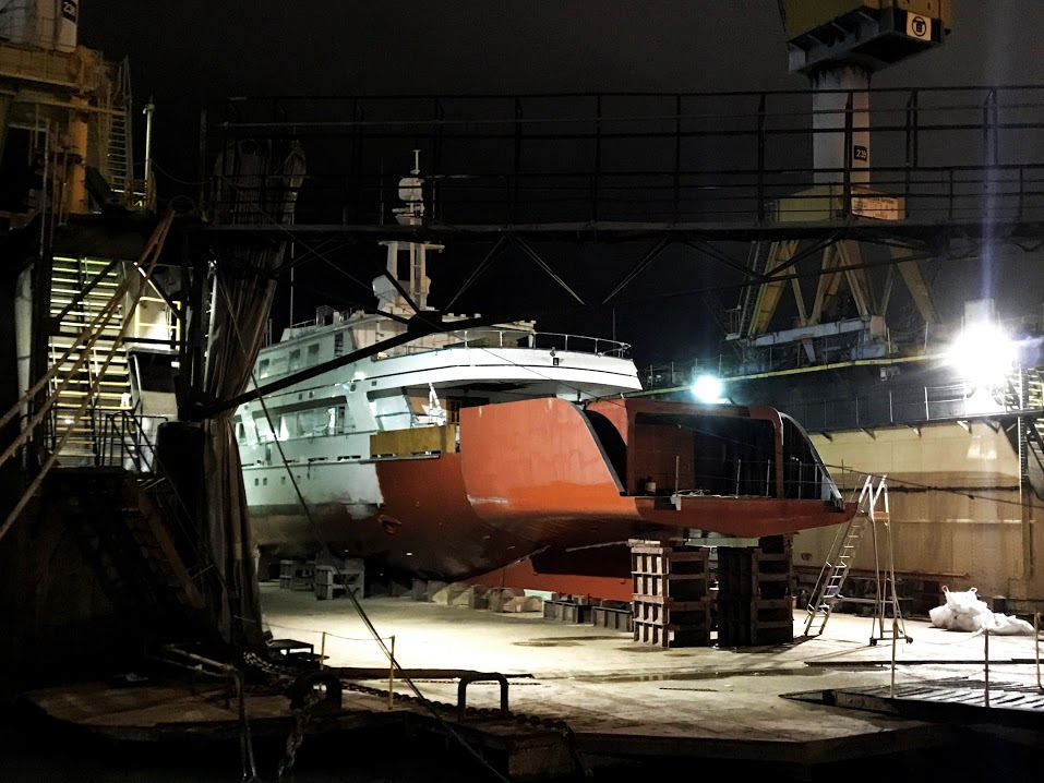 Image for article Palumbo undertakes major refit of M/Y 'Commitment'