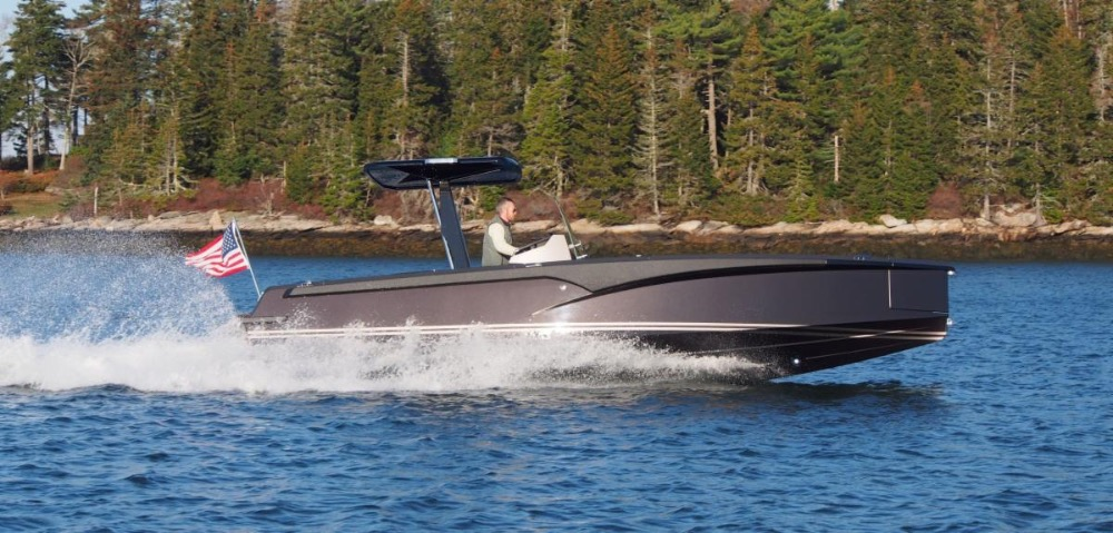 Image for article Hodgdon Tenders launches first vessel in new Crossover line