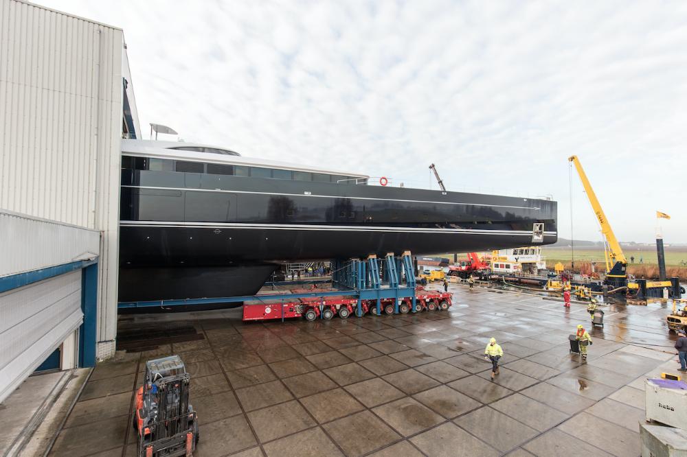 Image for article Royal Huisman launches 81m Sea Eagle II