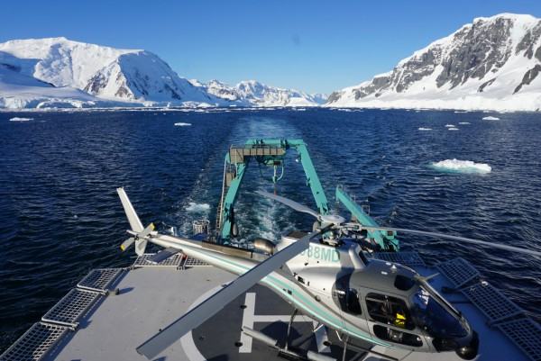 Image for article New safety guidelines in progress for private yachts operating in polar waters