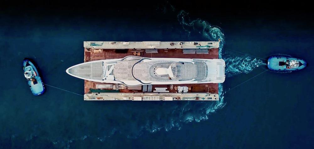 Image for article Turquoise transfers 74m NB66 to Pendik Shipyard