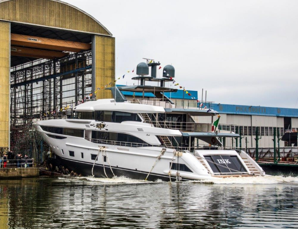 Image for article Benetti launches first Diamond 145 fibreglass superyacht