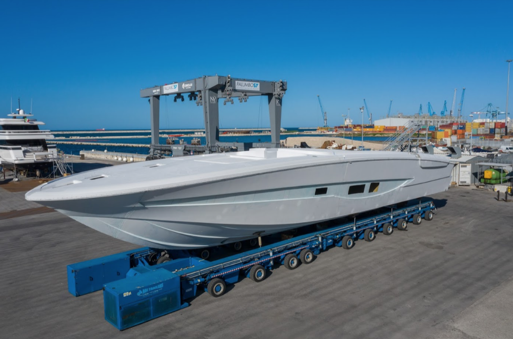 Image for article ISA Yachts' new 30m enters final phase