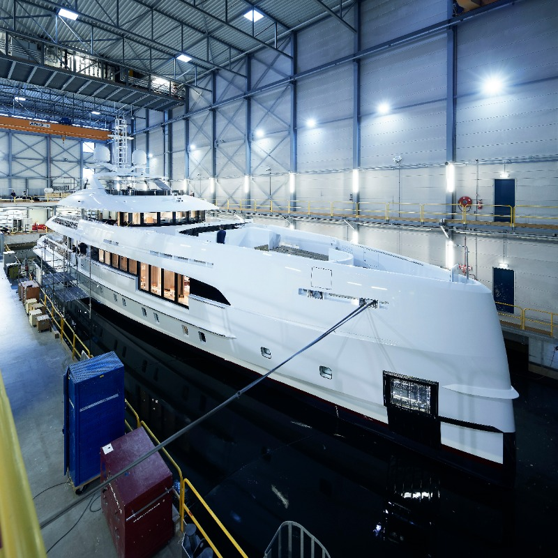Image for article Heesen launches second hybrid yacht