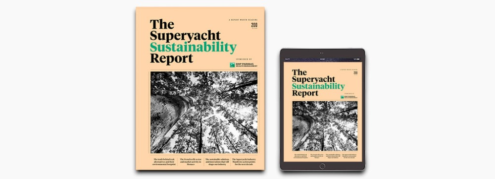 Image for article The Superyacht Sustainability Report out now