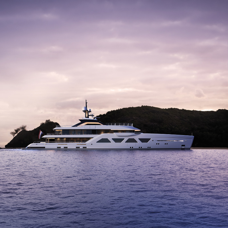 Image for article Amels confirms sale of 60m Limited Editions superyacht