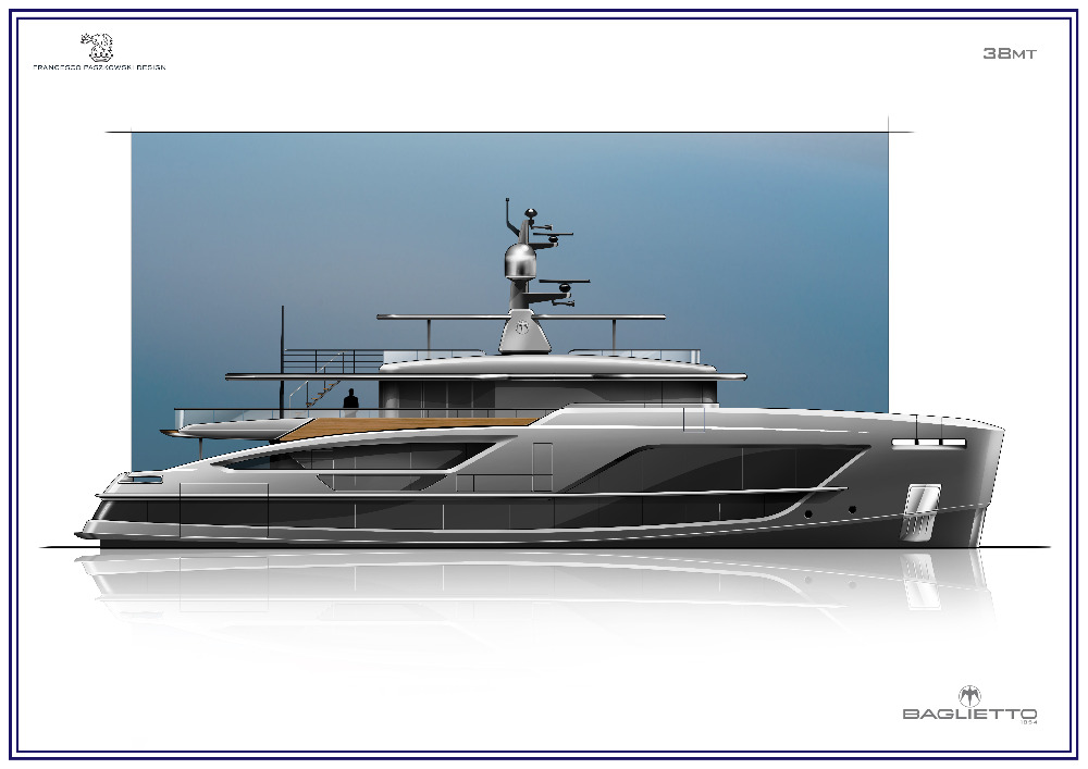 Image for article Baglietto sells new 38m superyacht