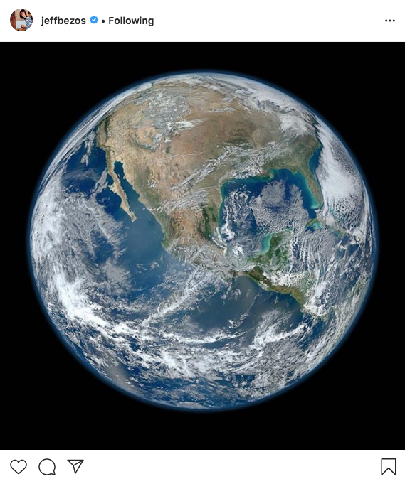 Image for article Jeff Bezos pledges £7.7bn to fight climate change