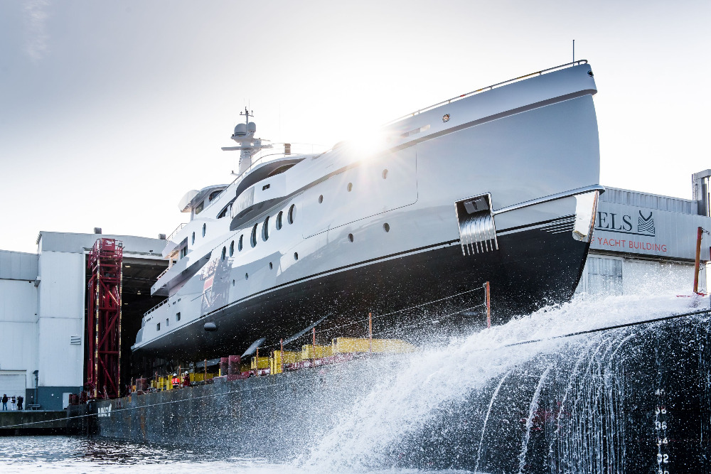 Image for article Amels launches first superyacht of 2020