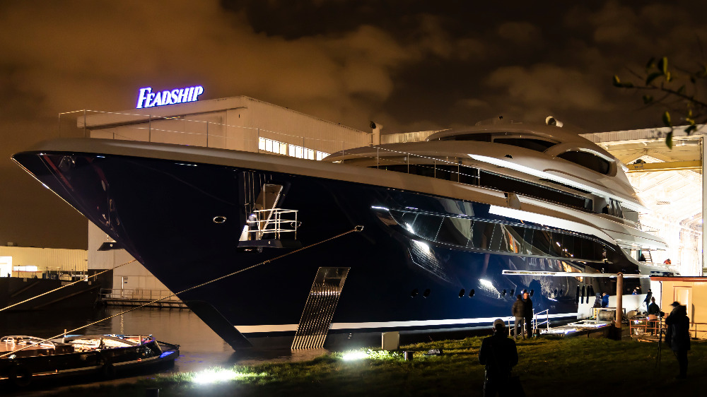 Image for article An early glimpse of Feadship's new project
