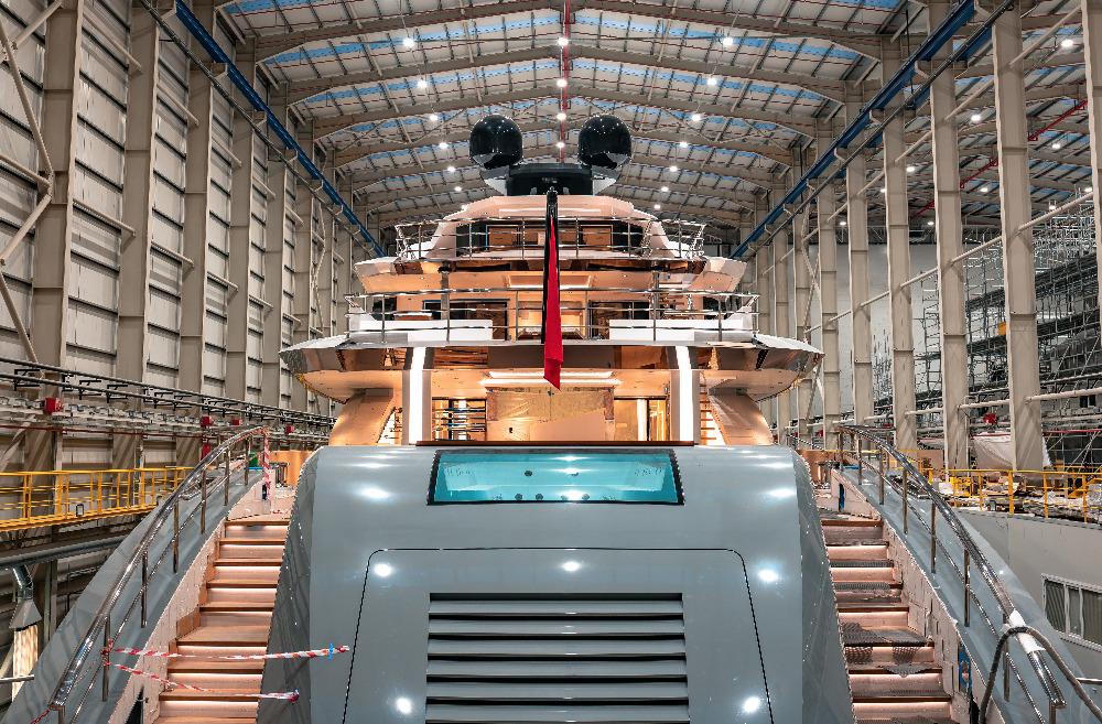 Image for article Bilgin Yachts, building yachts