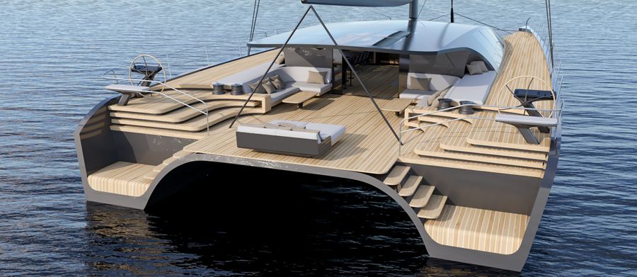 Image for article BlackCat Superyachts unveils new 30m