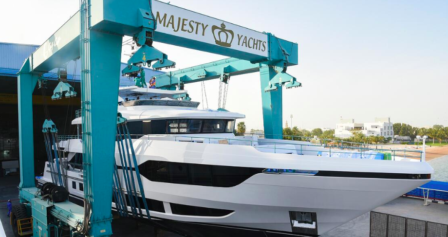 Image for article Gulf craft announces launch of its Majesty 120
