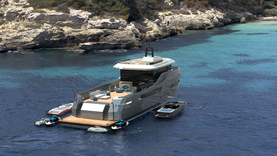 Image for article Lynx Yachts sells first CROSSOVER 27 project